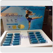3 Box Original Ballerina Slimming Capsules Lose Weight Reduce Fat Slim Diet Fit