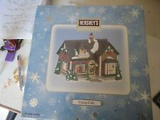 Hershey Christmas Hershey's Holiday Village Chocolate Factory Lighted Coco Cafe