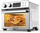 MOOSOO 10-in-1 Air Fryer Convection Toaster Oven 24 Quart/6 Slices Large 1700W photo