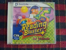 Reading Blaster, For 1st Grade - PC CD - Used - Jewel Case