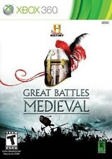 History Great Battles: Medieval - Xbox 360 Game