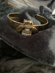 18ct Gold Dipped Bee Cuff