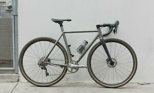 Custom Titanium coupling gravel/adventure bike 1Xcarbon fork
