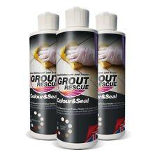 Universeal Grout Rescue Colour&Seal CHARCOAL (237ml). Renews & transforms grout