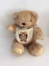 Vintage Jointed Teddy Bear Plush Baby Stuffed Animal Gorham Nicholas November