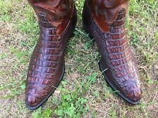 Exotic Handmade 9.5EE Classic Tony Lama Hornback Alligator Western Boots