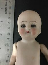 """Antique All Bisque German Character Doll Toddler Body 6"""""""