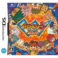 Used DS Inazuma Eleven 3: Sekai e no Chousen!! Bomber Japan Import