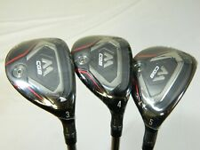 Brand New Taylormade MCGB Rescue set - 19* 3H + 21* 4H + 24* 5H Hybrids Regular