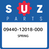 09440-12018-000 Suzuki Spring 0944012018000, New Genuine OEM Part
