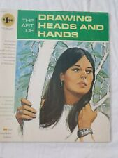 Art of Drawing Heads & Hands 1966, Grumbacher Art Library Book
