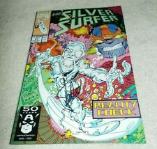 New ListingThe Silver Surfer # 57 Stan Lee Signed Comic 1991 Thanos