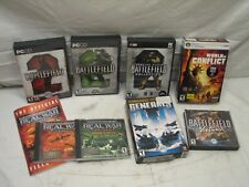 Lg Lot Real War Strategy Computer Games Battlefield 2 Vietnam World Conflict PC