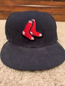 New Era 59Fifty Boston Red Sox Hat 7 1/8 MLB MA Green Monster