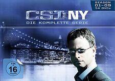 CSI : NY NEW YORK 1-9 KOMPLETTE DVD SEASON / STAFFEL 1 2 3 4 5 6 7 8 9 DEUTSCH