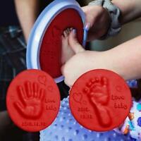 Clay Handprint Baby Footprint Imprint Kit Casting Parent-child Hand Pad Ink E4U2