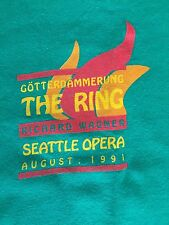 Richard Wagner's the Ring Seattle Opera 1991 T-shirt