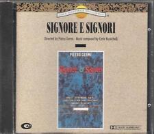 """CARLO RUSTICHELLI -RARO CD 1992 FUORI CATALOGO CELOPHANATO """" SIGNORE E SIGNORI """""""