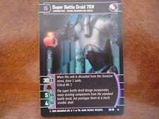 Star Wars TCG ROTS Super Battle Droid 7EX FOIL 36/110