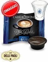 Borbone Don Carlo BLU box 200 capsule compatibili A Modo Mio + Tazzina