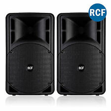Pair RCF Art 315-a Mk4 Active Powered PA Speakers DJ Live Sound System 800w