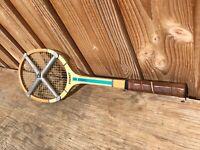 Viejo Raqueta de Tenis Sydney Madera Prensa para Marco Zephyr Deporte Vintage