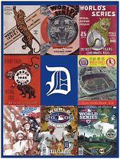 Detroit Tigers World Series Poster-Poster size approximately 9x12