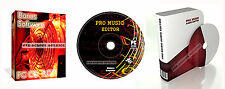 Pro Music Recording Studio Mixing Editing Software For PC and Mac + Bonus Items