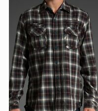 Hause of Howe Cash Killer Long Sleeve Woven Shirt (M) Moody Blue