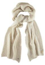 G-STAR  Schal  Waffel  Muster STANTON  SCARF  WMN  billy  knit  creme  Beige Neu