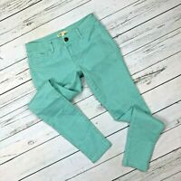 Cabi Jegging Size 4 Womens Skinny Jeans Aqua Thin Mint Style 322 Denim Stretch