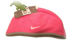 New NIKE Girls Pink Fleece Hat lined Infant one size 1-3 Years
