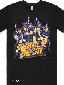 Melbourne Storm 2021 NRL Finals Tee - Purple Reign (Small-5X-Large)