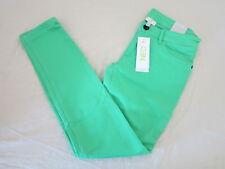 Adidas Neo Para Mujer Skinny Jeans Verde W27 L30 Nuevo BNWT Raro