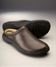 Samuel Windsor Mens Slippers Outdoor Mule Leather Lining Slip on Size 5new