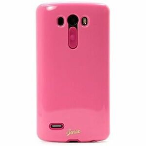 NEW Sonix Dual Layer Shock Absorbing Hard Shell Protection Inlay Case LG G3 Pink
