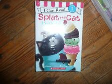 BRAND NEW Lot of 8 SPLAT the CAT Early Readers picture books Sealed!