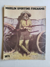1971 Marlin Sporting FireArms Guns Catalog Information Magazine 31Pgs