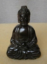 Chinese Handwork carving Buddha old jade statue