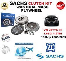 pour VW Jetta 1K2 1.6 1.9 TDI 105 BHP 2005-2009 SACHS Kit embrayage avec volant