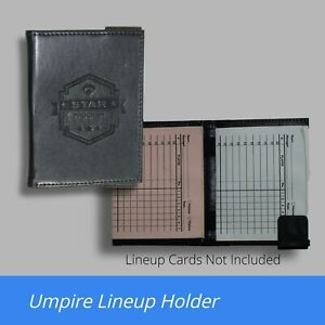 FREE SHIPPING! Umpire Lineup Card Holder (High-Quality!) - Buy More & Save