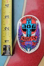 Dogtown Skateboards Original Vintage 1978 DTS Bulldog Art Skateboarding STICKER