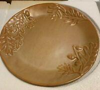 Set of 2 Biltmore Inspirations Olmstead Oak Dinner Plates NIB