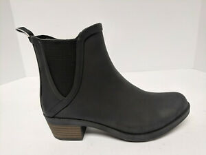 Lucky Brand Basel H2O Ankle Boots, Black, Womens 5 M