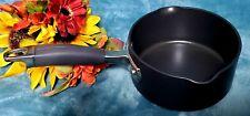 Anolon Advanced Cookware Saucepan 1 Quart Nonstick Hard Anodized Pot Pan Kitchen