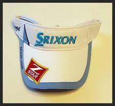 SRIXON Z STAR MENS PEAK CAP - ADJUSTABLE - WHITE/BLUE - BRAND NEW