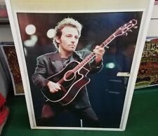 Bruce Springsteen Poster Live New Never Opened Late 2000'S Vintage London 88