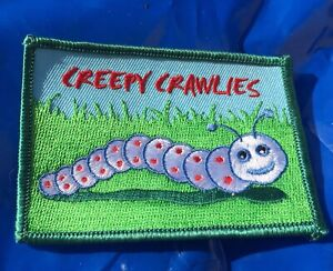Creepy Crawlies Embroidered Patch/ Label