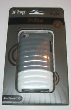 ifrogz Ipod Touch 4 Pulse Hard Plastic Case Gray/White