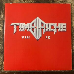 TIMBIRICHE -VIII / IX- 1988 MEXICAN DOUBLE LP CLEAR AND GREEN CLEAR WAX +INSERTS